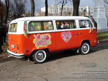 Аренда автомобиля VW T2  с водителем 1