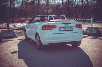Аренда автомобиля Audi A3 с водителем 1