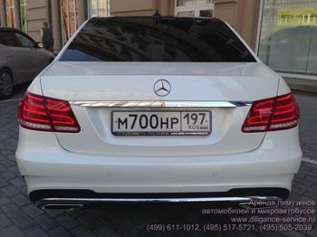 Аренда автомобиля Mercedes-Benz E212  с водителем 0