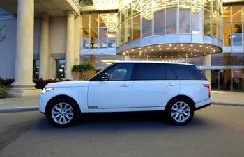 Аренда автомобиля Range Rover Vogue с водителем 1