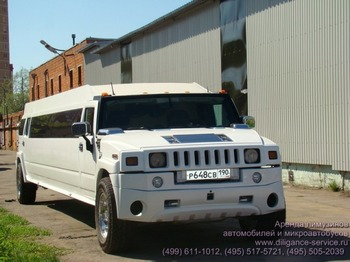 Аренда автомобиля Hummer H2  с водителем