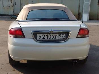 Аренда автомобиля Chrysler Sebring Cabrio белый  с водителем 2