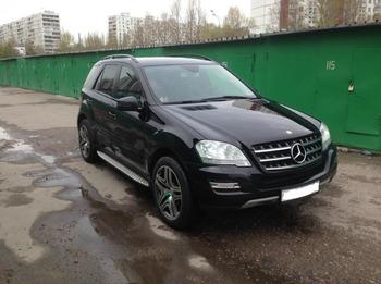 Аренда автомобиля Mercedes ML-350 с водителем 0