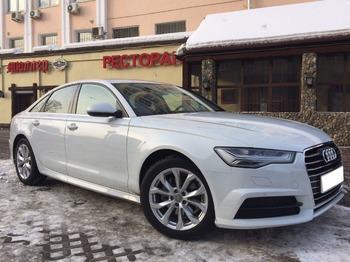 Аренда автомобиля Audi A6  с водителем