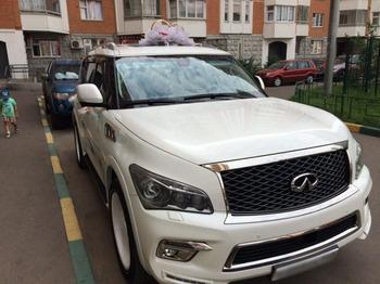 Аренда автомобиля Infinity QX80  с водителем 4