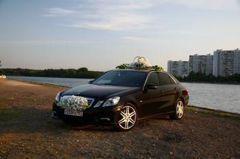 Аренда автомобиля Mercedes-Benz E 212  с водителем 3