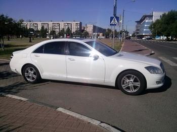 Аренда автомобиля Mercedes S221 Long  с водителем 4
