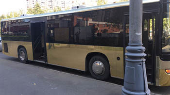 Аренда автомобиля Party Bus Gold с водителем 4