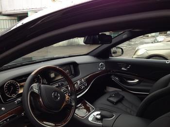 Аренда автомобиля Mercedes S 222 long  с водителем 4