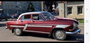 Аренда автомобиля ГАЗ-21 с водителем 4