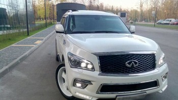 Аренда автомобиля Infinity QX80  с водителем 7