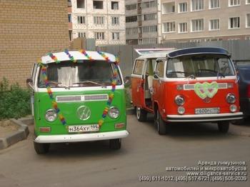 Аренда автомобиля VW T2  с водителем 4