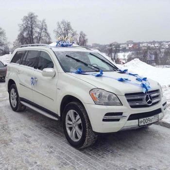 Аренда автомобиля Мерседес GL (белый) с водителем 4