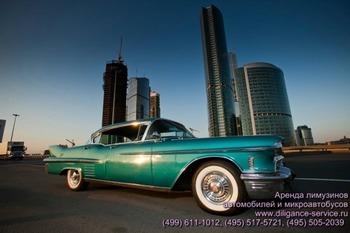 Аренда автомобиля Cadillac De Ville  с водителем 0