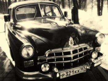 Аренда автомобиля ЗИМ  с водителем 11
