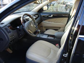 Аренда автомобиля Hyundai Equus с водителем 3