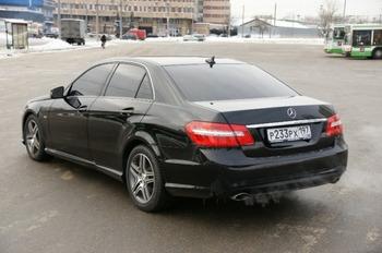 Аренда автомобиля Mercedes-Benz E 212  с водителем 0
