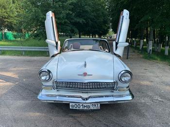 Аренда автомобиля ГАЗ-21 кабриолет  с водителем 13