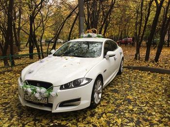 Аренда автомобиля Jaguar XF рестайлинг с водителем