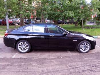 Аренда автомобиля BMW-520  с водителем 3
