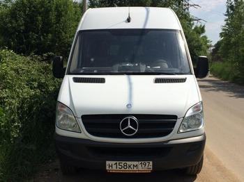 Аренда автомобиля Mercedes-Benz Sprinter 315  с водителем 0