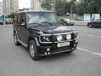 Аренда автомобиля Mercedes-Benz G-class с водителем