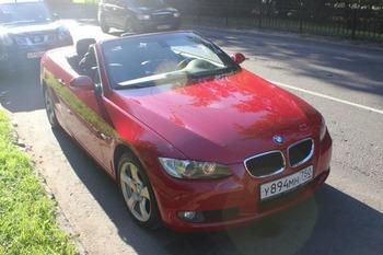 Аренда автомобиля BMW 320 с водителем