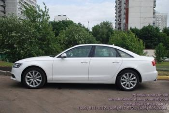 Аренда автомобиля Audi A6   с водителем 0