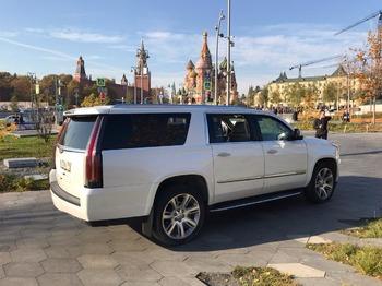 Аренда автомобиля Кадиллак Эскалейд 4 Long с водителем 1