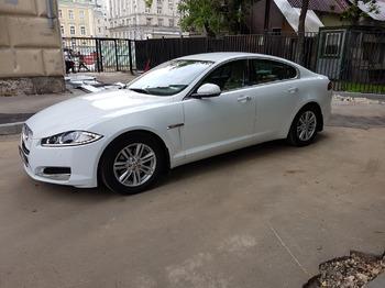 Аренда автомобиля Jaguar XF с водителем 0