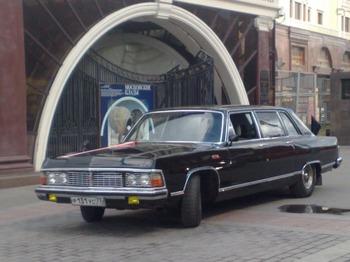 Аренда автомобиля Чайка ГАЗ 14-02 с водителем 6