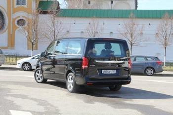 Аренда автомобиля Mercedes (V-класс)  с водителем 2