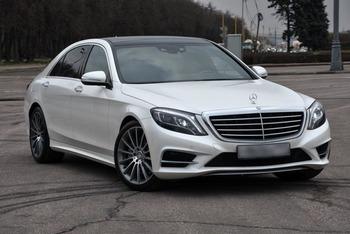Аренда автомобиля Mercedes S222  с водителем