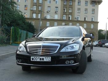 Аренда автомобиля Mercedes-Benz S-class (W221) [320] с водителем 1