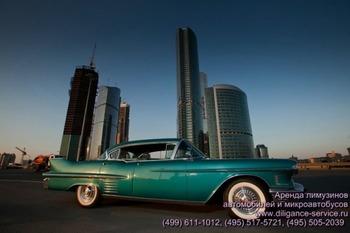 Аренда автомобиля Cadillac De Ville  с водителем 3