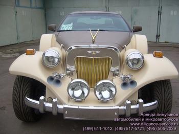 Аренда автомобиля Excalibur  с водителем