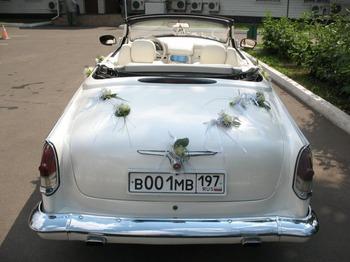Аренда автомобиля ГАЗ-21 кабриолет  с водителем 11