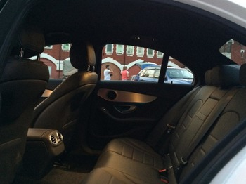 Аренда автомобиля Mercedes-Benz C-klasse IV (W205)  с водителем 0
