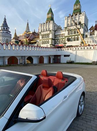 Аренда автомобиля Кабриолет BMW 320 с водителем 2