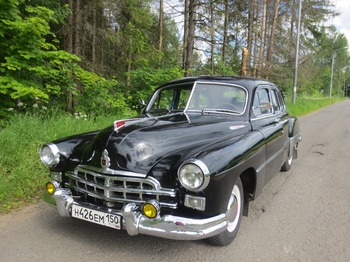 Аренда автомобиля ЗИМ черный с водителем