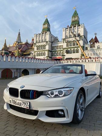 Аренда автомобиля Кабриолет BMW 320 с водителем 0