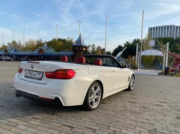 Аренда автомобиля Кабриолет BMW 320 с водителем 3