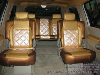 Аренда автомобиля Infiniti QX56  с водителем 5