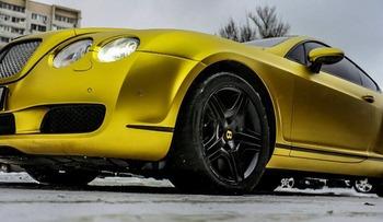 Аренда автомобиля Bentley Continental GT  с водителем 0