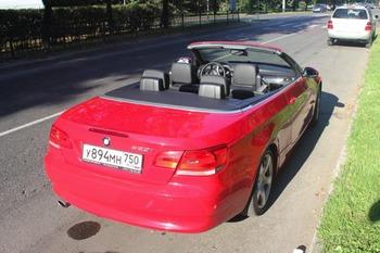 Аренда автомобиля BMW 320 с водителем 1